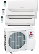 climatisation Mitsubishi Electric MSZ-HR-VF TRISPLIT <br />R32