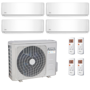 climatisation Altech Quadri-split Serie AE<br />R32